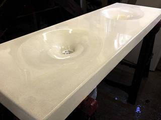Twin Concrete Infinity Sink : modern  by Forma Studios , Modern
