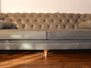 Bespoke Chesterfield sofas:   by Chandler Upholstery