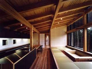 LDK オリジナルデザインの リビング の 井上久実設計室 オリジナル
