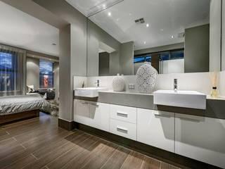 Bathroom by Moda Interiors, Perth, Western Australia 現代浴室設計點子、靈感&圖片 根據 Moda Interiors 現代風