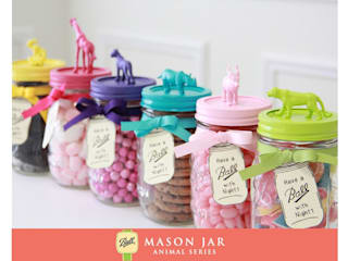 Mason Jar Kitchen 廚房儲櫃