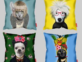 Poduszki Takkoda: styl , w kategorii  zaprojektowany przez Decodore basic