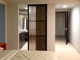 Laura Canonico Architetto Modern style bedroom