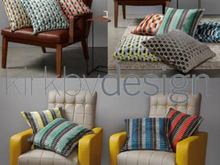 Poduszki Kirkby Design: styl , w kategorii  zaprojektowany przez Decodore basic