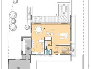 Grundriss EG:   von Architekturbüro Schlesinger