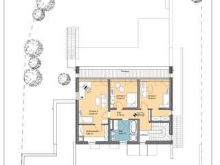 Grundriss OG:   von Architekturbüro Schlesinger