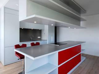 Küchenblock:  Küche von Moserarchitekten