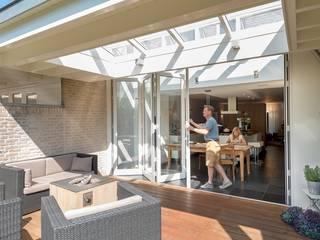 Solarlux Vouwwanden Moderne balkons, veranda's en terrassen van Solarlux Modern