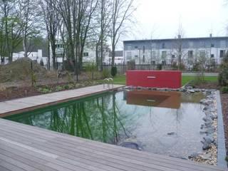 Exklusiver Badeteich: Moderner Garten Von Nagelschmitz Garten  Und  Landschaftsgestaltung GmbH