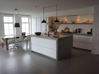 Modern kitchen by Design Gietvloer Modern