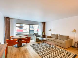 Scandinavian style living room by blackStones Scandinavian