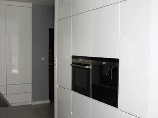 Apartament Warszawa Murano od ABC kuchnie Minimalistyczny