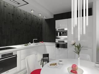 Cocinas minimalistas de Дизайнер интерьера Наталья Жукова Minimalista