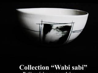 céramique collection Wabi Sabi:  de style  par Atelier céramique
