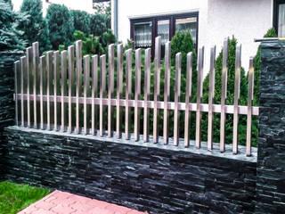 Realizacja ogrodzenia 19: styl , w kategorii  zaprojektowany przez Armet