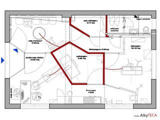 Studio AlkyTECA | project of Veterinary Ambulatory Services: Studio in stile  di Studio AlkyTECA