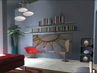 Salon contemporain Salon moderne par IDare D.SIGNS Moderne