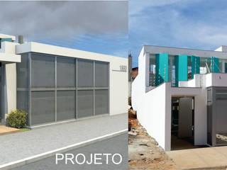 Casa Rua Romildo Morelli Casas modernas por Sérgio Machado Arquitetura Moderno