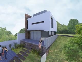 Maisons de style  par K+S arquitetos associados,