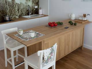Apartament w Zakopanem - kuchnia: styl , w kategorii Kuchnia zaprojektowany przez Jacek Tryc-wnętrza,