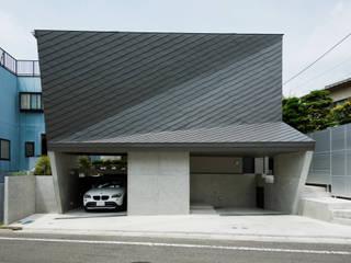 FOLD モダンな 家 の 充総合計画 一級建築士事務所 モダン