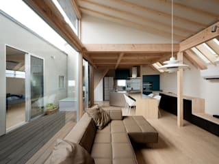 Salon de style  par 充総合計画 一級建築士事務所, Moderne
