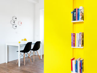 Salle à manger minimaliste par Maurizio Giovannoni Studio Minimaliste