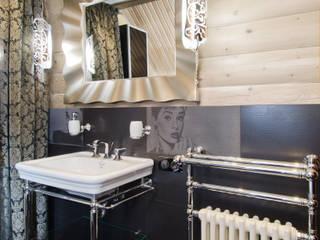Samarina projects Rustic style bathroom