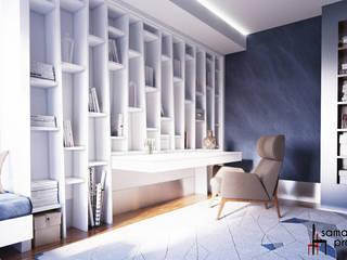 Bureau minimaliste par Samarina projects Minimaliste