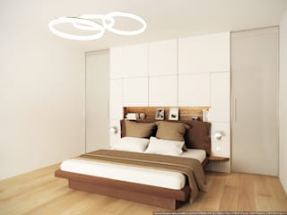 Minimalist bedroom by ECOForma Minimalist