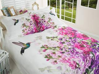 Shabby Nevresim Takimi Home Sweet Home Tropikal