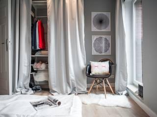 Raca Architekci Спальня в скандинавском стиле