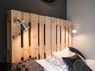 Dormitorios de estilo  por Raca Architekci , Escandinavo