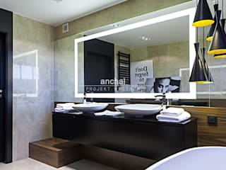 Modern bathroom by Anchal Anna Kuk-Dutka Modern