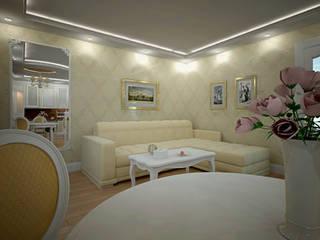 Дизайн кухни-гостиной Гостиная в классическом стиле от Дизайн студия интерьера 'Relief' Классический