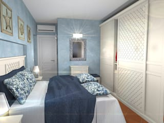 Interiors in Sardinia Planet G BedroomWardrobes & closets