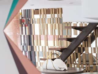 Présentation du Show-Room Bleumorange Locaux commerciaux & Magasin modernes par Bleumorange Moderne