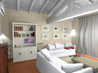 Interiors in Sardinia Planet G Living roomCupboards & sideboards