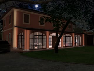 Villa in Rome Planet G Classic style conservatory