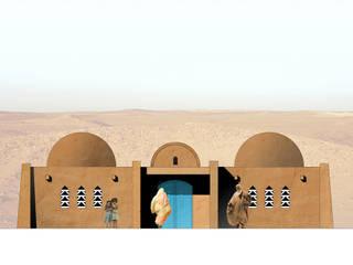 La Casa de la Mujer - Rabouni - Algeria Studio Moretti Case eclettiche