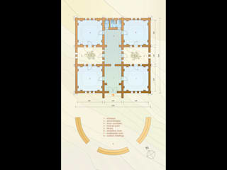 La Casa de la Mujer - Rabouni - Algeria: Case in stile  di Studio Moretti