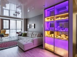 (DZ)M Интеллектуальный Дизайн Scandinavian style corridor, hallway& stairs