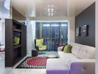 (DZ)M Интеллектуальный Дизайн Scandinavian style living room