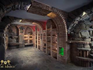 Ruang Penyimpanan Wine/Anggur Klasik Oleh Twoje Miejsce Klasik