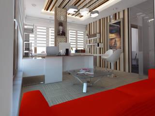 İNDEKSA Mimarlık İç Mimarlık İnşaat Taahüt Ltd.Şti. Edificios de oficinas de estilo moderno