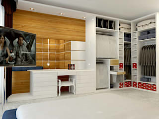Bedroom by GN İÇ MİMARLIK OFİSİ,