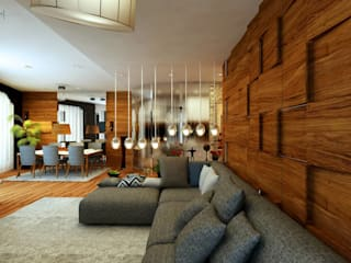 Living room by GN İÇ MİMARLIK OFİSİ,