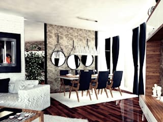 Dining room by GN İÇ MİMARLIK OFİSİ,