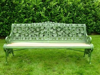 Coalbrookdale Garden Benches UKAA | UK Architectural Antiques Garden Furniture