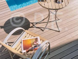 patrick eoche Photographie d'architecture Balcone, Veranda & Terrazza in stile moderno